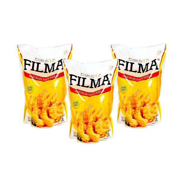 harga FILMA Pouch Minyak Goreng [2 L x 3 pcs] Blibli.com