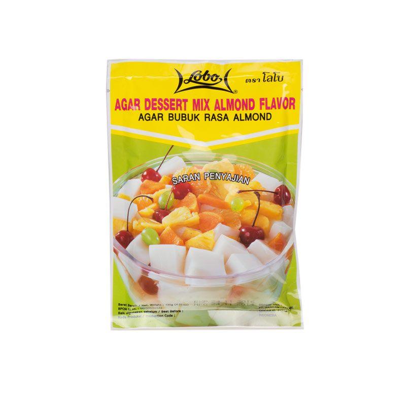 Lobo Agar Dessert Mix Almond [2 x 130 gr]