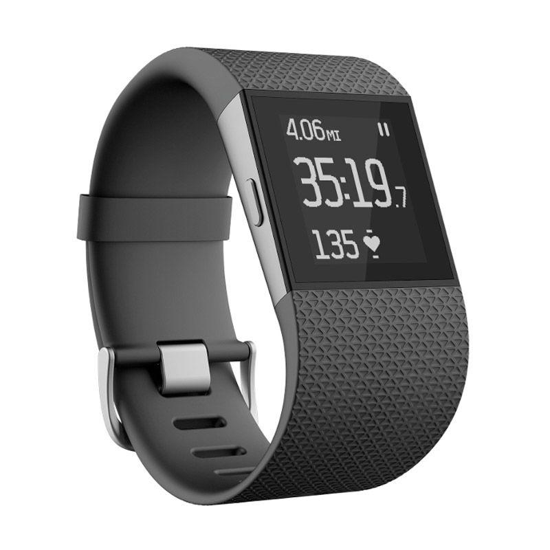 Fitbit Surge Fitness Super Watch Smartwatch - Black