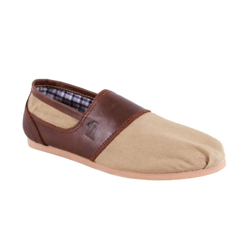 Flankers Bradford Slip On Brown