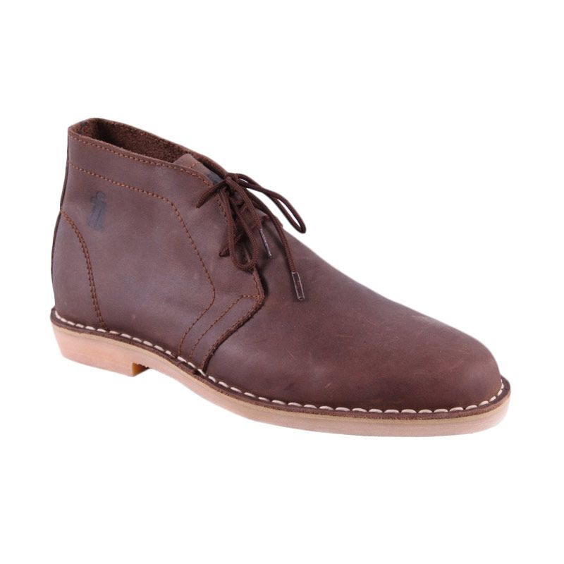 Flankers Brown To Rock Chukka Brown