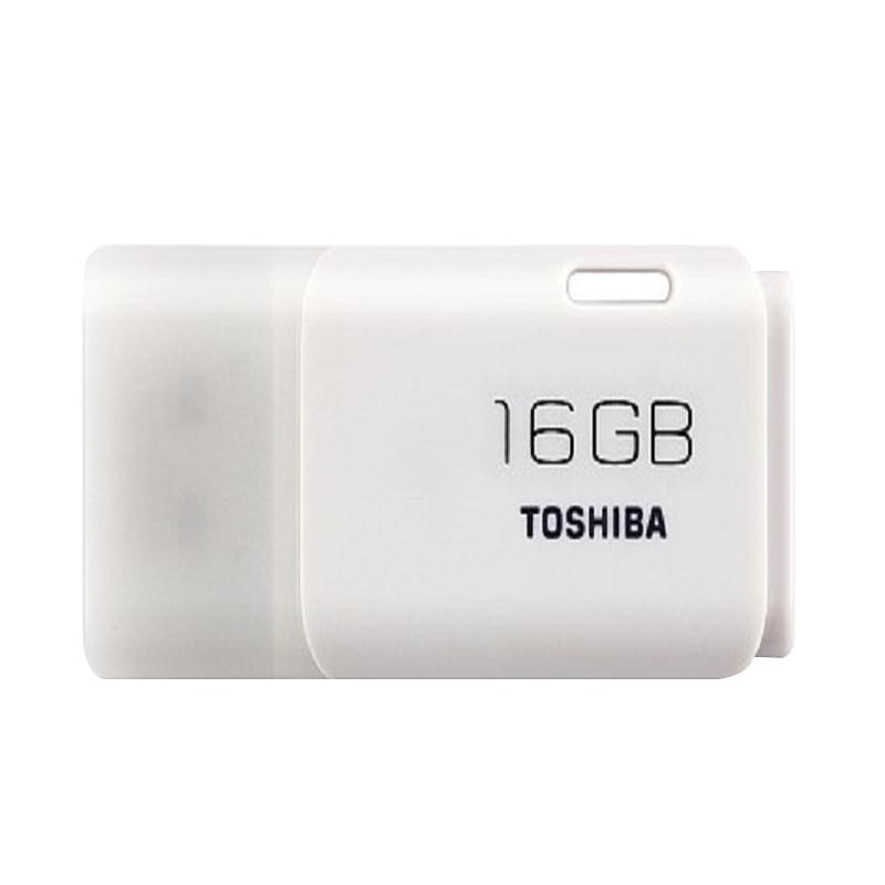 Jual Toshiba Hayabusa Putih Flashdisk [16 GB] - White