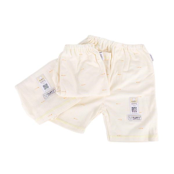 Fluffy C3S 3/4 Salur Set Celana Anak