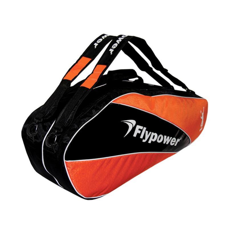 Flypower Solar 2 Tas Badminton - Black Orange