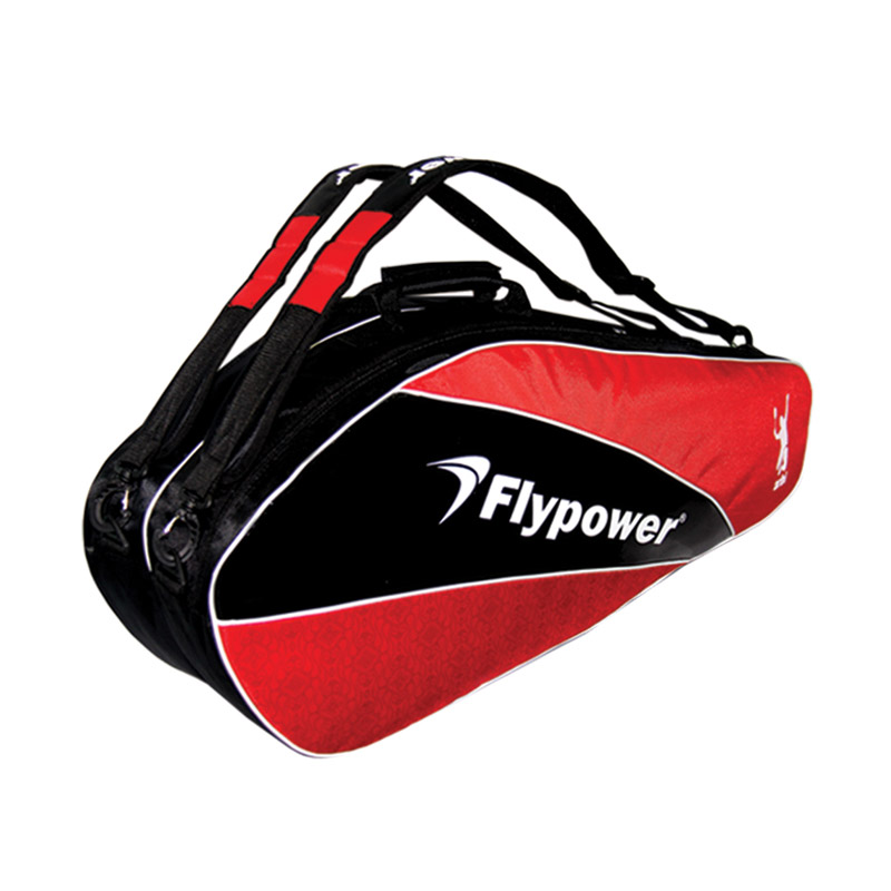 Flypower Solar 2 Tas Badminton - Black Red