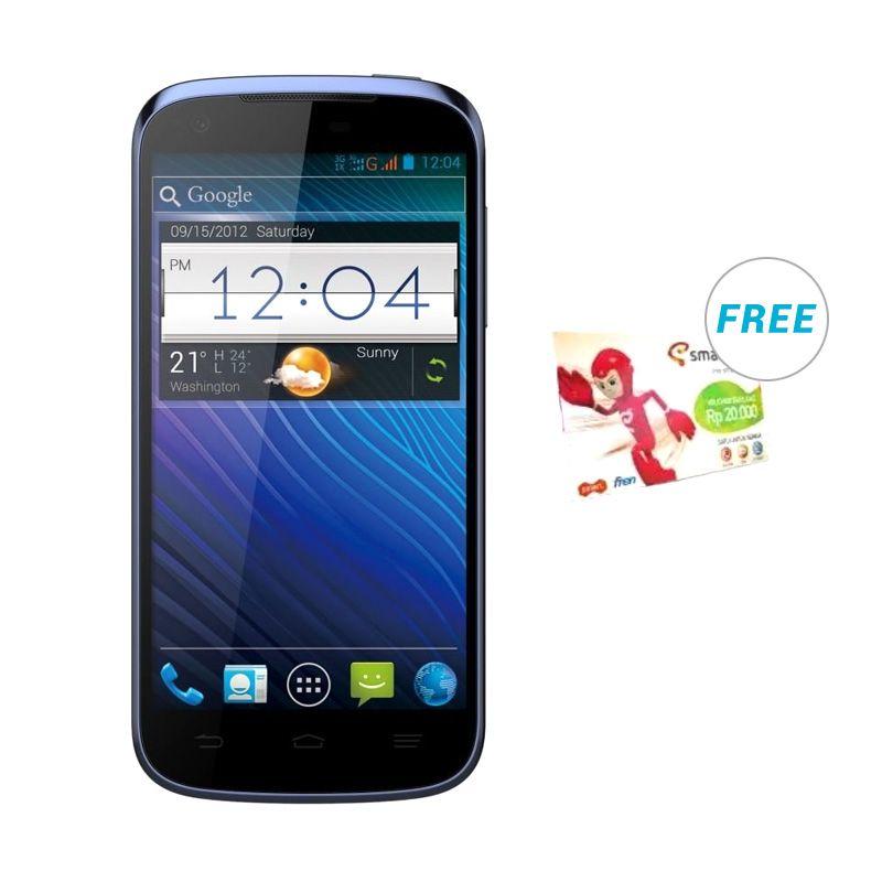 Smartfren Andromax V2 Biru Smartphone