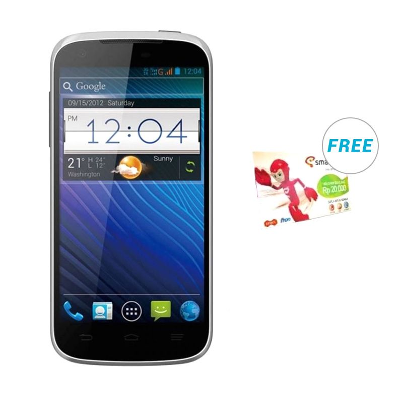 Smartfren Andromax V2 Putih Smartphone