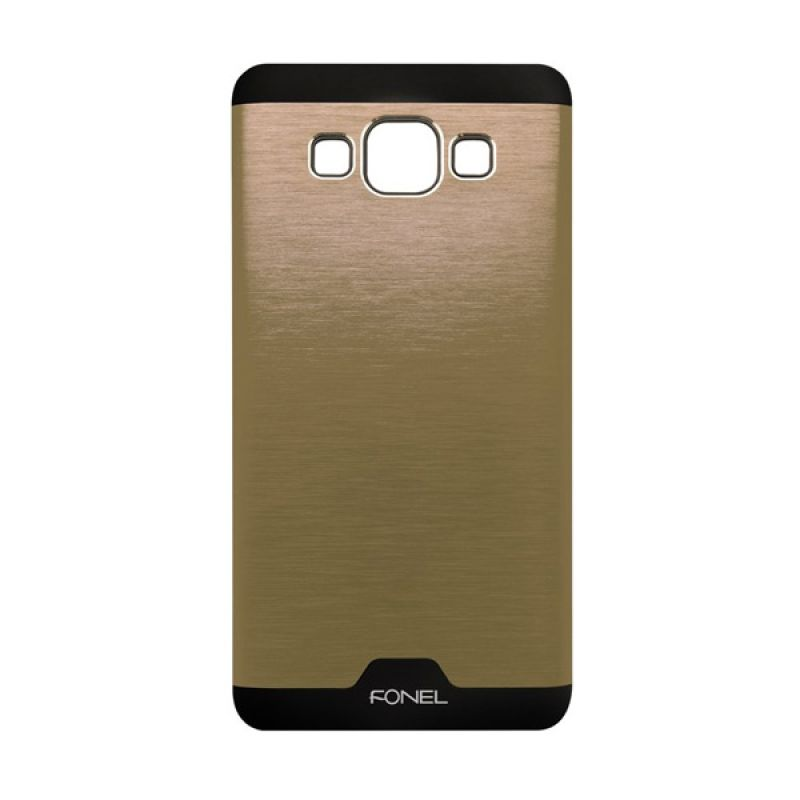 Fonel Back Cover Gold Casing for Galaxy A3