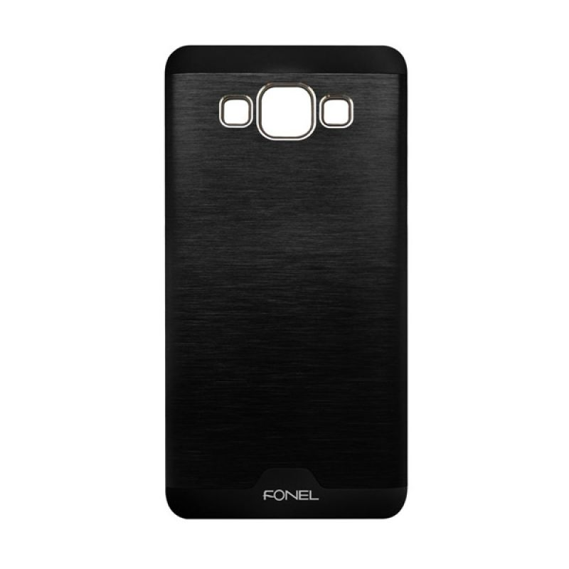 Fonel Back Cover Hitam Casing for Galaxy A3