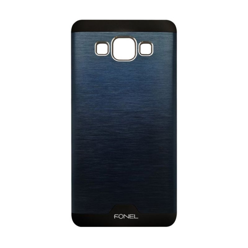 Fonel Back Cover Navy Blue Casing for Galaxy A3