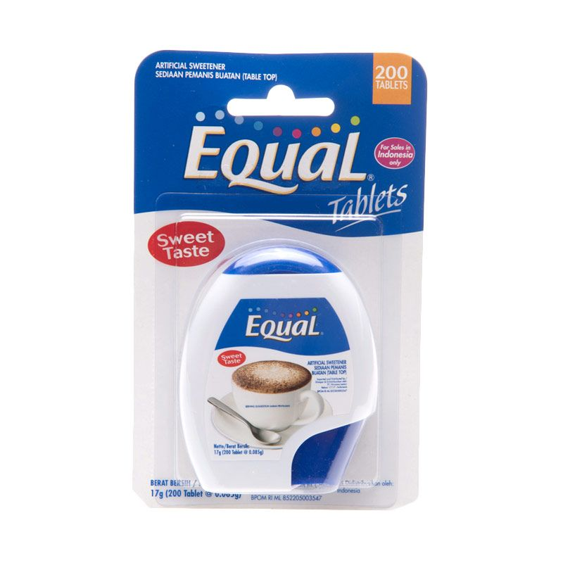 Equal Tablet Gula [200 tablet]