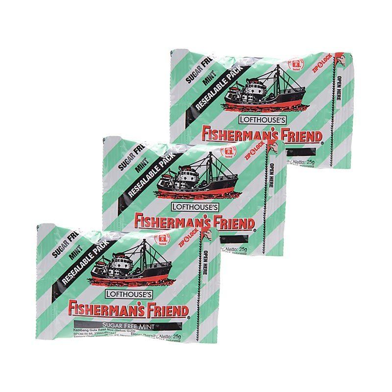 Fisherman'S Friend Free Mint Permen [3 packs]