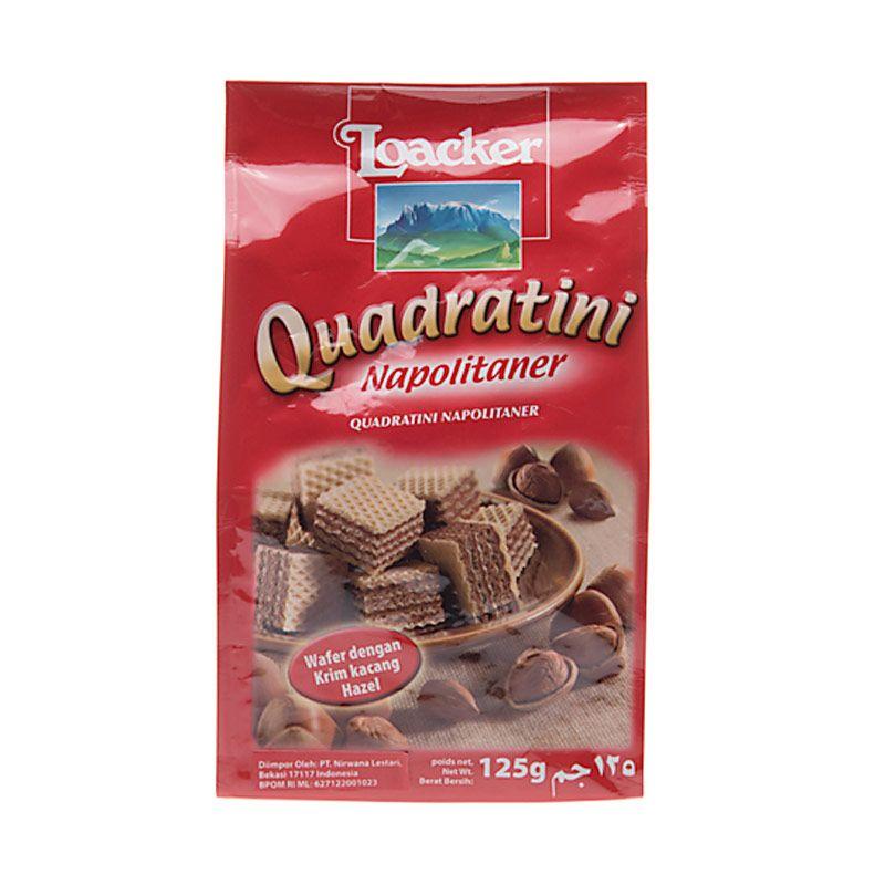 Loacker Quadratini Napolitaner Biskuit Wafer