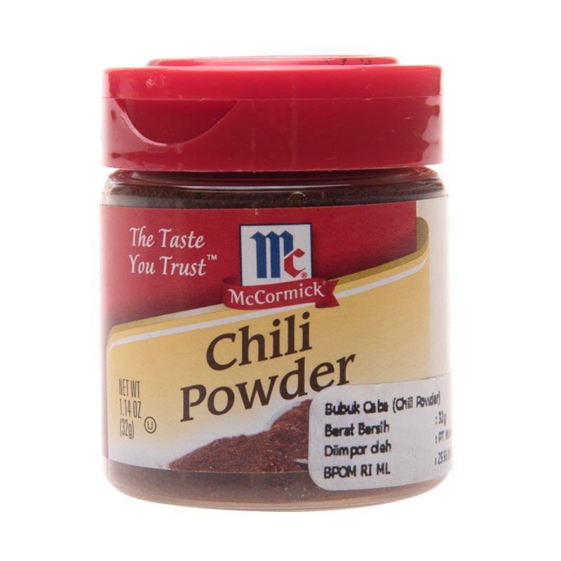 McCormick Chili Powder Bumbu Masak [1.14 Oz]