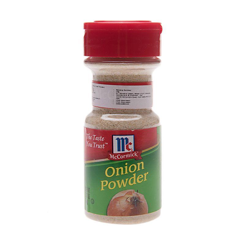 McCormick Onion Powder Bumbu Masak [2.62 Oz]