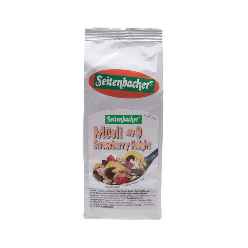 Seitenbacher Musli Strawberry Delight Sereal