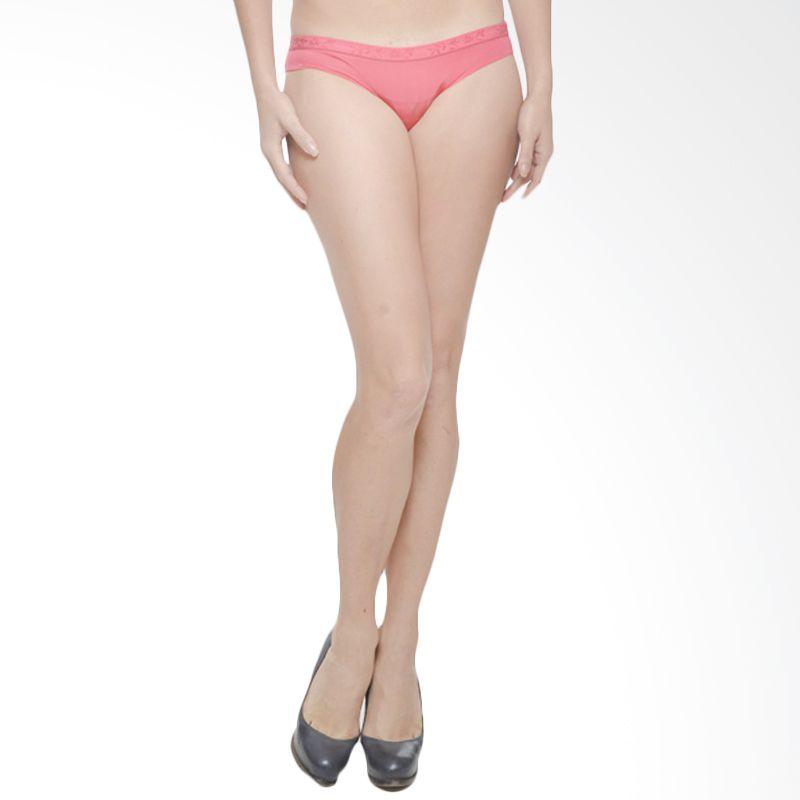 FMN Felicia Thong Vivid Rose Celana Dalam Wanita