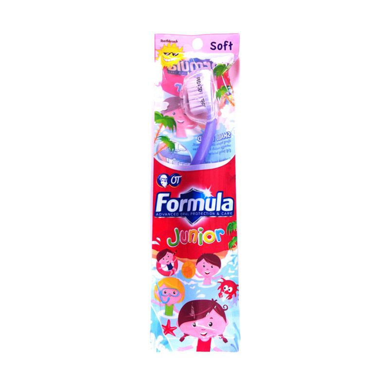Paket Hemat Formula Junior Helm New Sikat Gigi 5 pcs