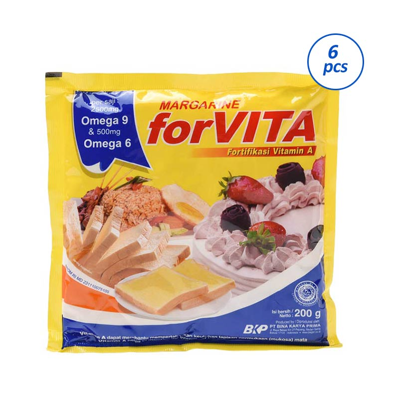 harga Forvita Margarine [200 g x 6 pcs] Blibli.com
