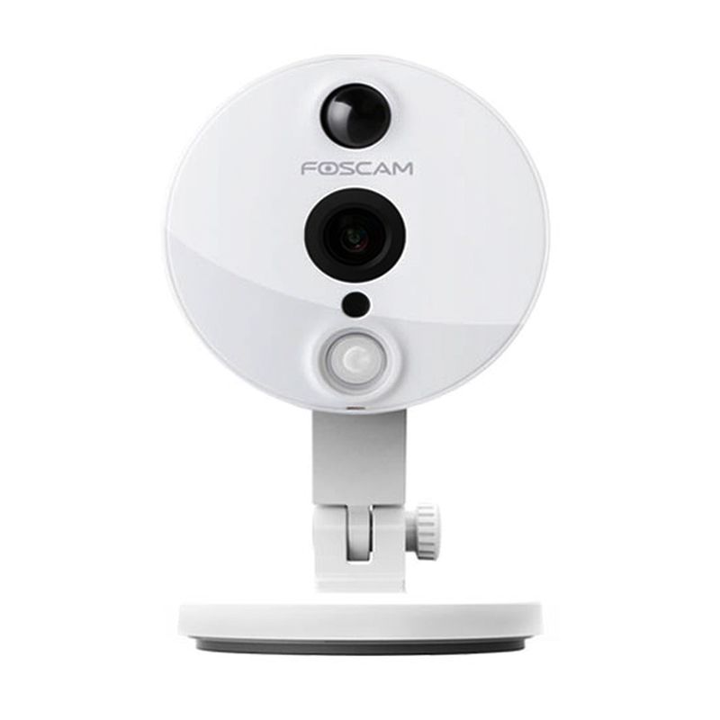 Foscam Indoor Wireless Full HD 2MP IP Putih Kamera CCTV
