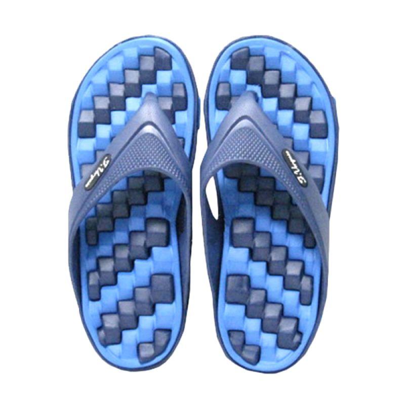 Felix Verguso Bolt Blue Sandal Jepit Pria