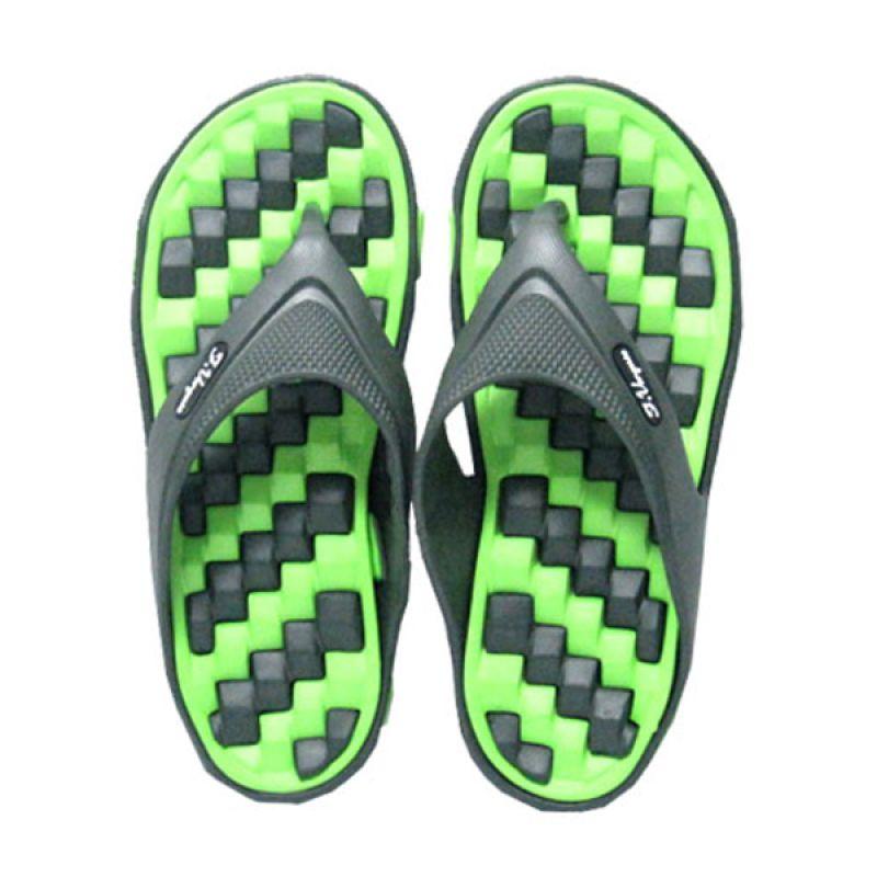 Felix Verguso Bolt Green Sandal Jepit Pria