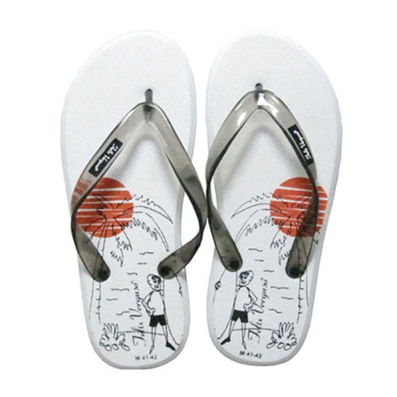 Felix Verguso Cocotree White Sandal