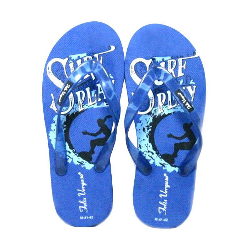 Felix Verguso Surf Blue Sandal Jepit Pria