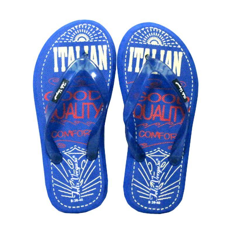 Felix Verguso Typo Blue Sandal Jepit Pria