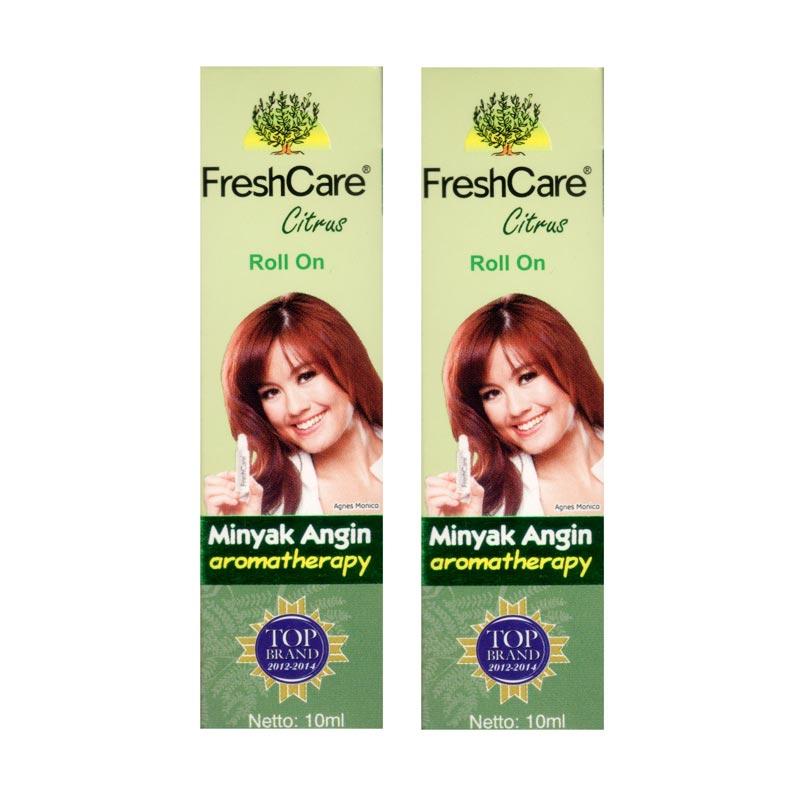 Fresh Care Citrus Minyak Angin [2 pcs] Suplemen Kesehatan