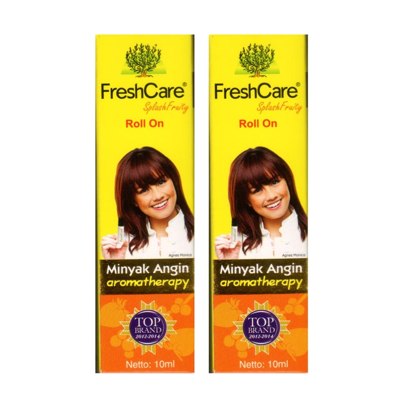 Fresh Care Splash Fruity Minyak Angin  [2 pcs] Suplemen Kesehatan