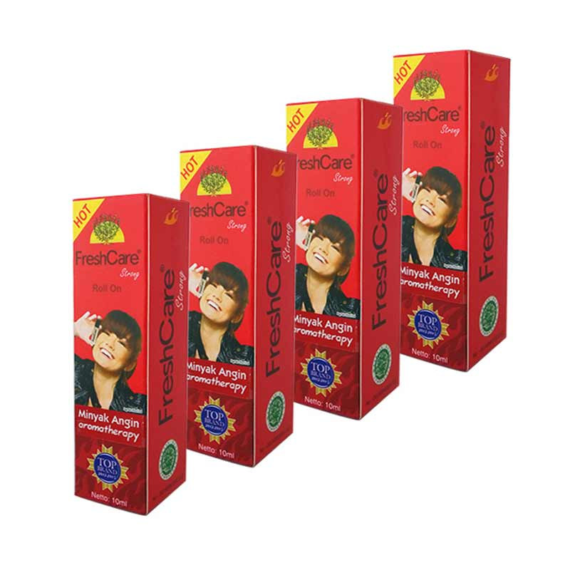 harga Freshcare Roll On Hot Minyak Angin [10 mL/4 Botol] Blibli.com
