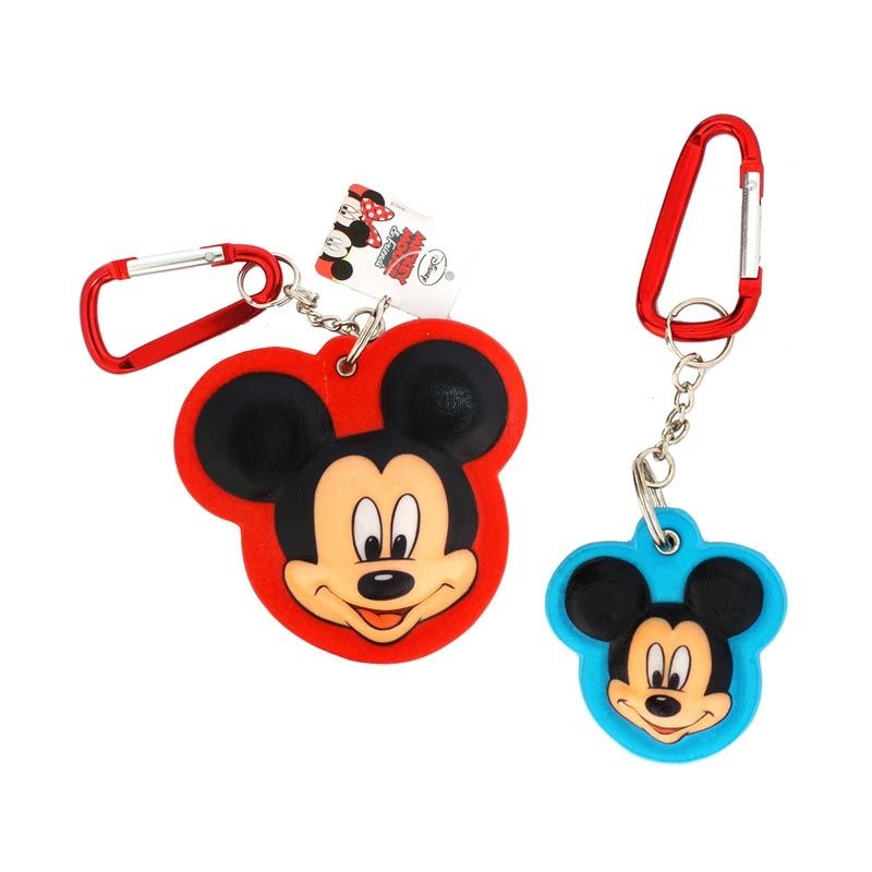 Disney Mickey 3D Large and Mickey 3D Small Keychain