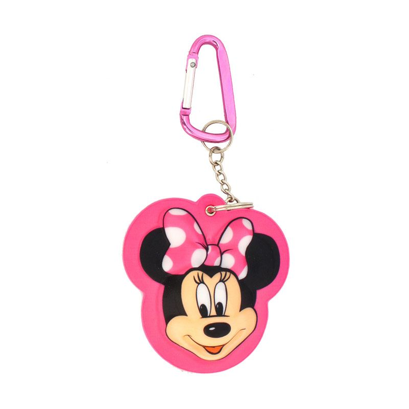 Disney Minnie 3D Keychain Pink Large