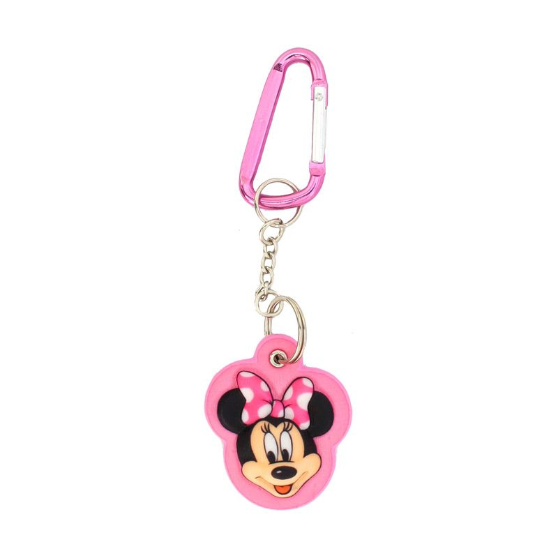 Disney Minnie 3D Keychain Pink Small