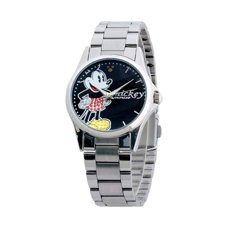 Disney MSFR1109-01C Mickey Silver Black