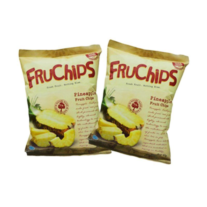 Fruchips Pineapple Snack Keripik Buah [2 Pcs/40 g]