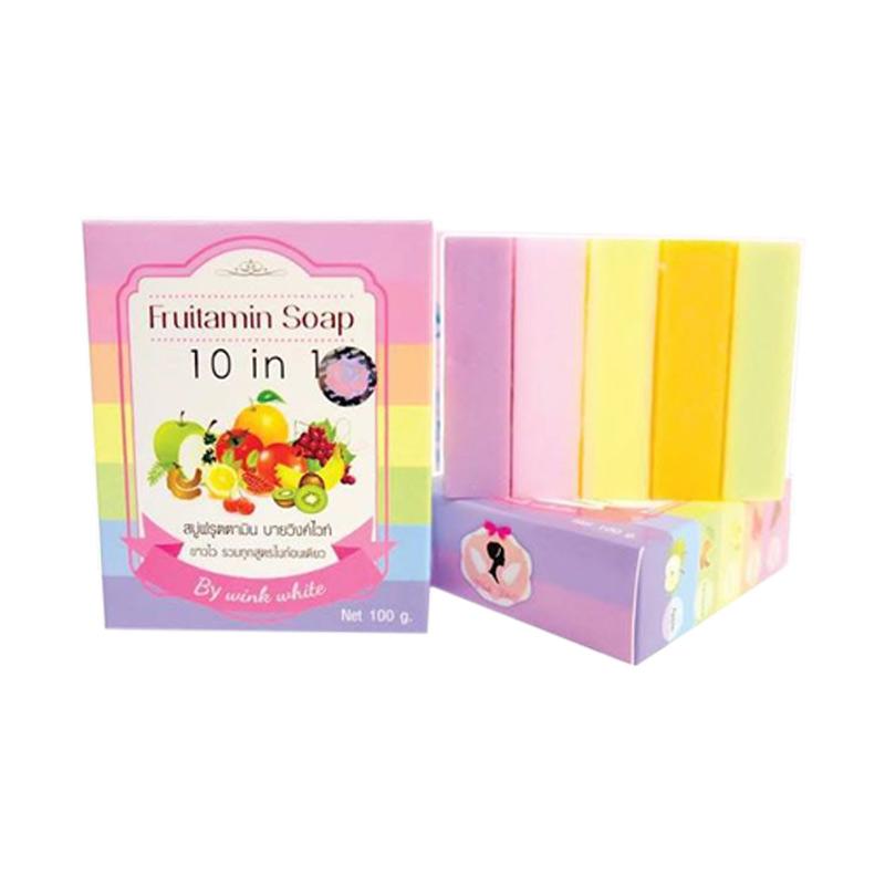 Fruitamin soap fruitamin soap sabun mandi  100 g  full03