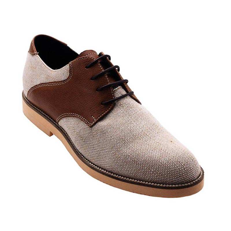 Ftale Footwear Carousel Mens Shoes - Brown Cream