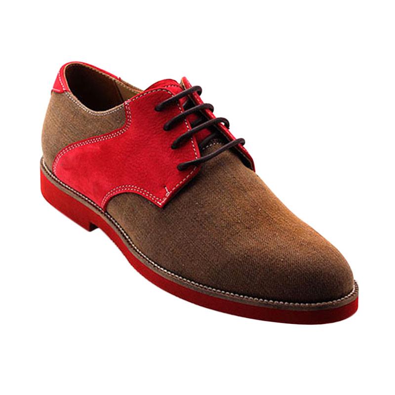 Ftale Footwear Carousel Mens Shoes - Red Devil