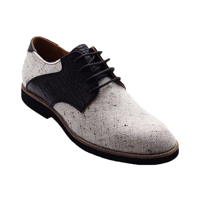 Ftale Footwear Carousel Mens Shoes Sepatu Pria - Grey Black