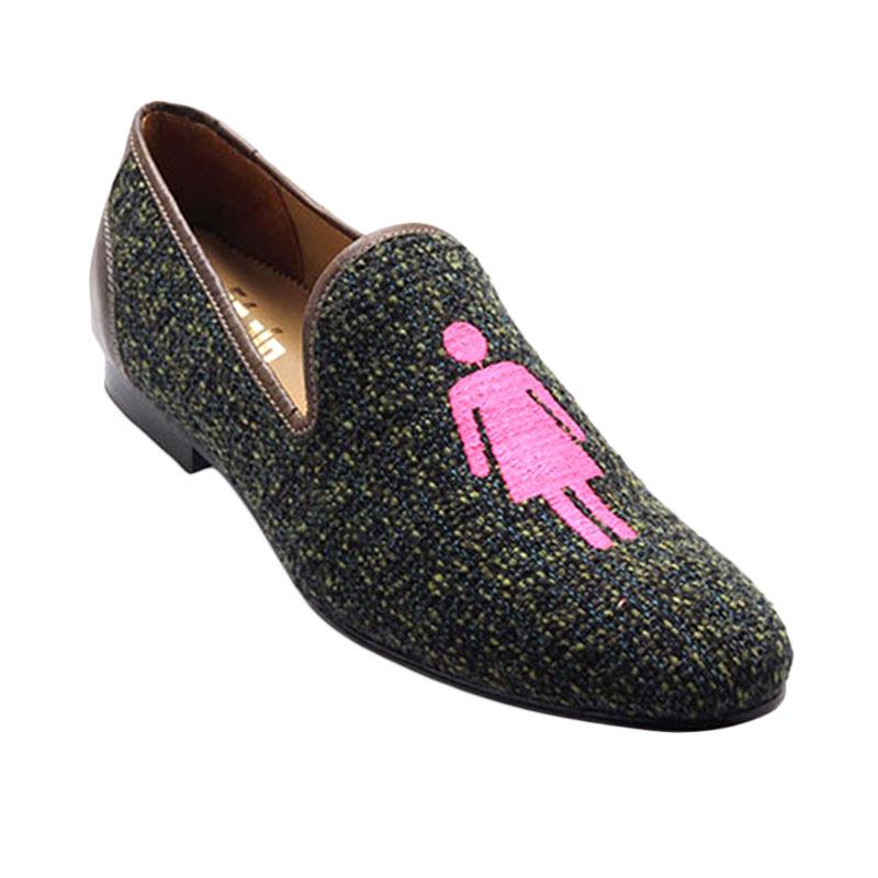 Ftale Footwear Equality Mens Shoes Sepatu Pria - Green Cast