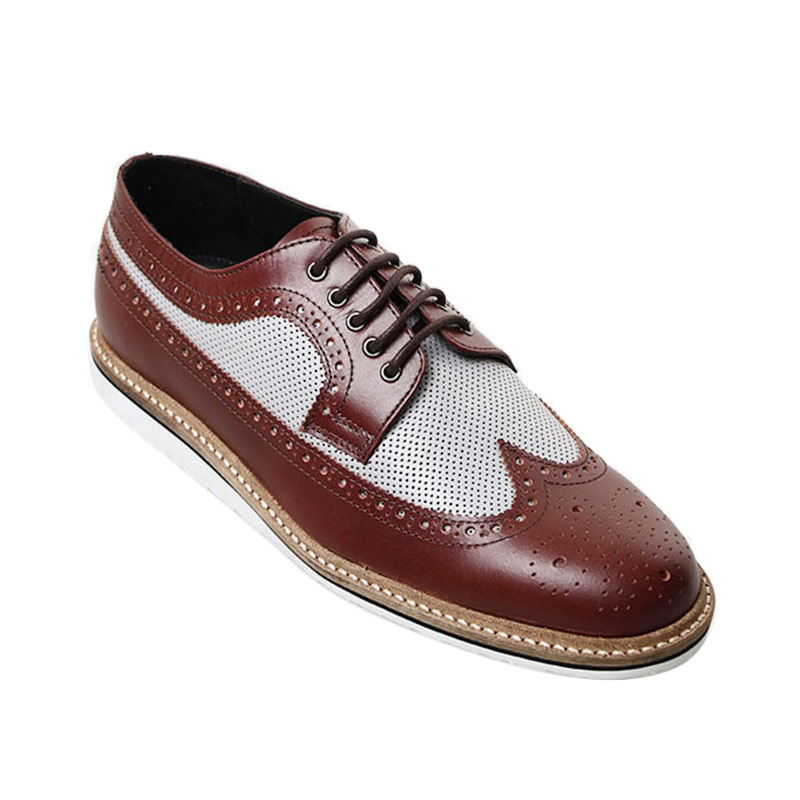 Ftale Footwear Griffin Mens Shoes - Maroon