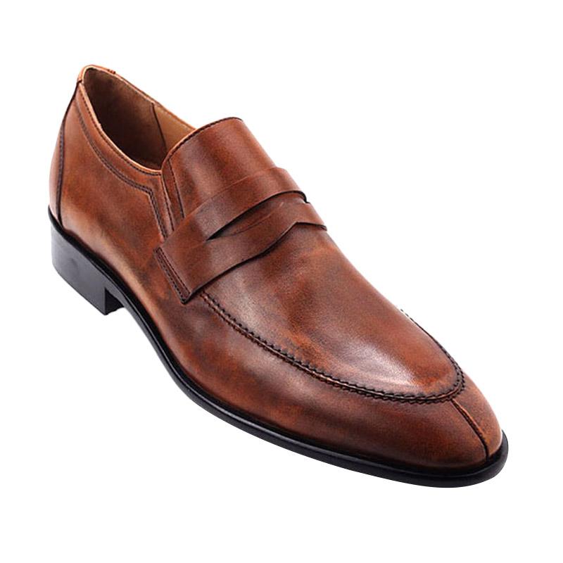 Ftale Footwear Orlando Mens Shoes Sepatu Pria - Patina Cuoio