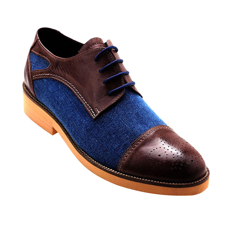 Ftale Footwear Phantom Mens Shoes Sepatu Pria - Blue Denim