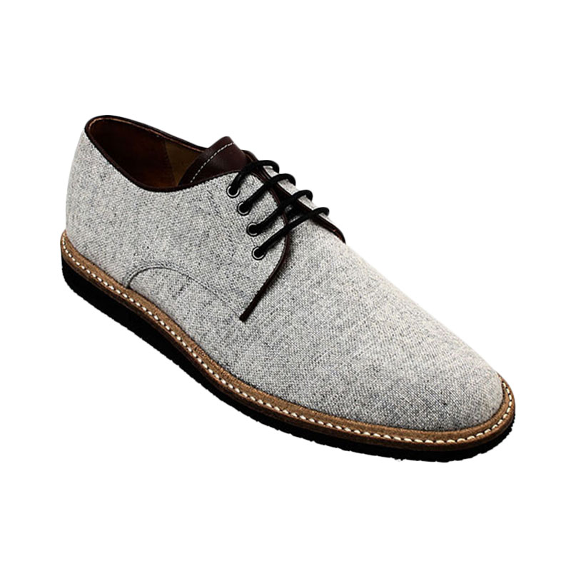 Ftale Footwear Shawn Canvas Mens Shoes - Grey