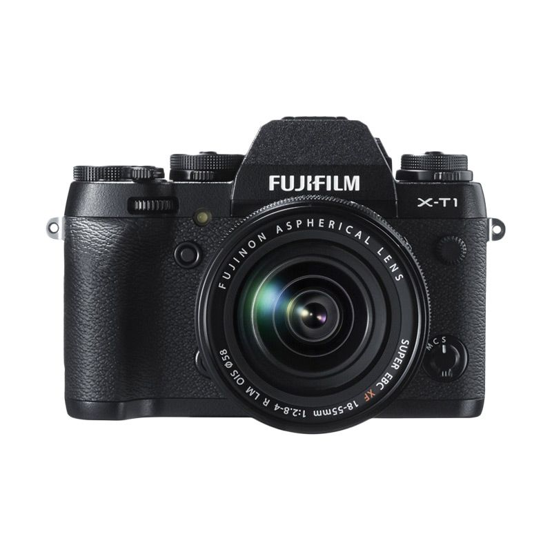 Fujifilm X-T1 Kit XF 18-55mm Black Kamera Mirrorless