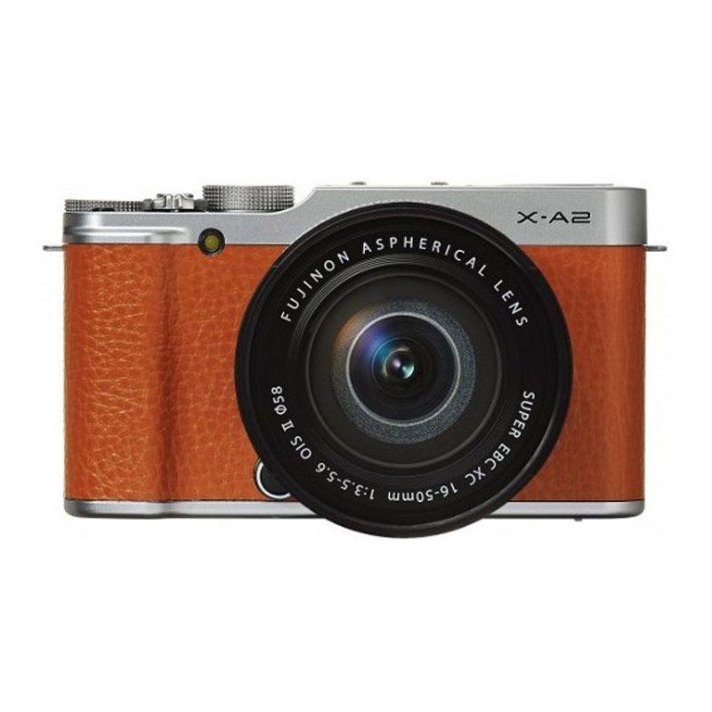Fujifilm Finepix X-A2 XC 16-50 Brown Kamera Mirrorless