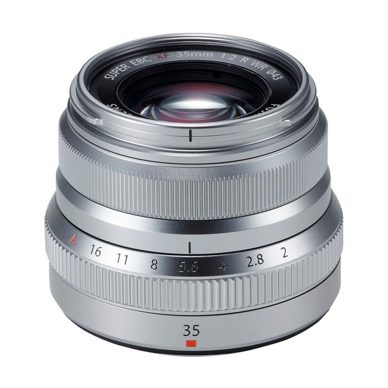 Fujifilm Fujinon XF 35mm f/2 R WR Lensa Kamera - Silver