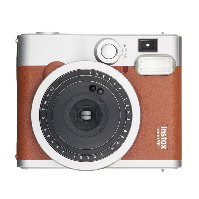 jual fujifilm instax mini 90 neo classic brown kamera. Black Bedroom Furniture Sets. Home Design Ideas